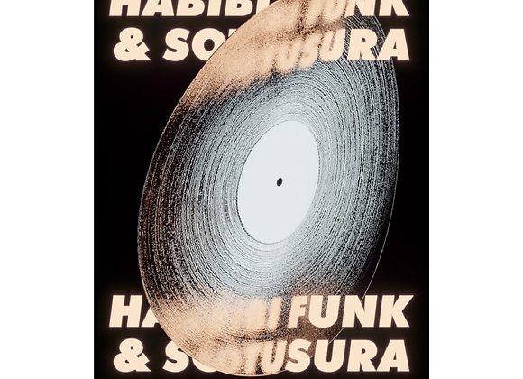 Habibi Funk Poster by Mothanna Hussein