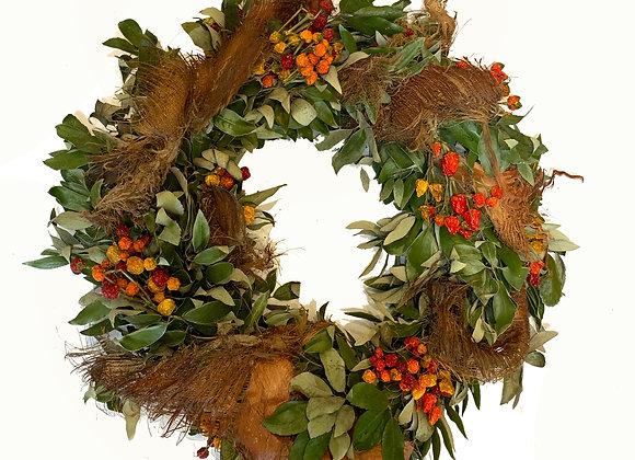 Natural Pepper Wreath