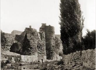 Nympheum basilica -'Amman, -c1910
