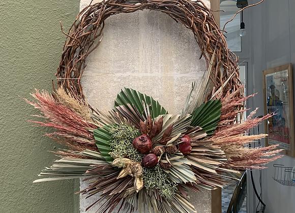Half Palm Wreath