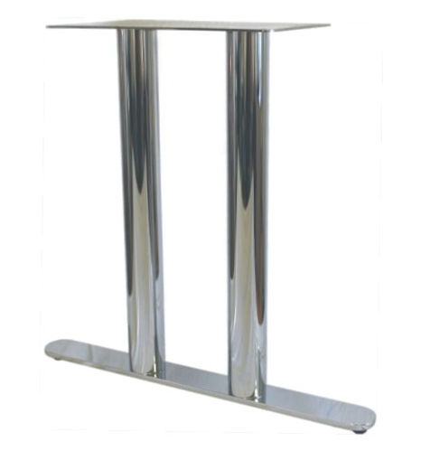 7026 - Round end solid bar double column T base