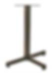 1103 - Solid bar 3 prong base