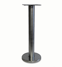 4039 - Stainless steel floor mount post