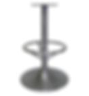 "4006 - Trumpet barstool base, 15"" footring"