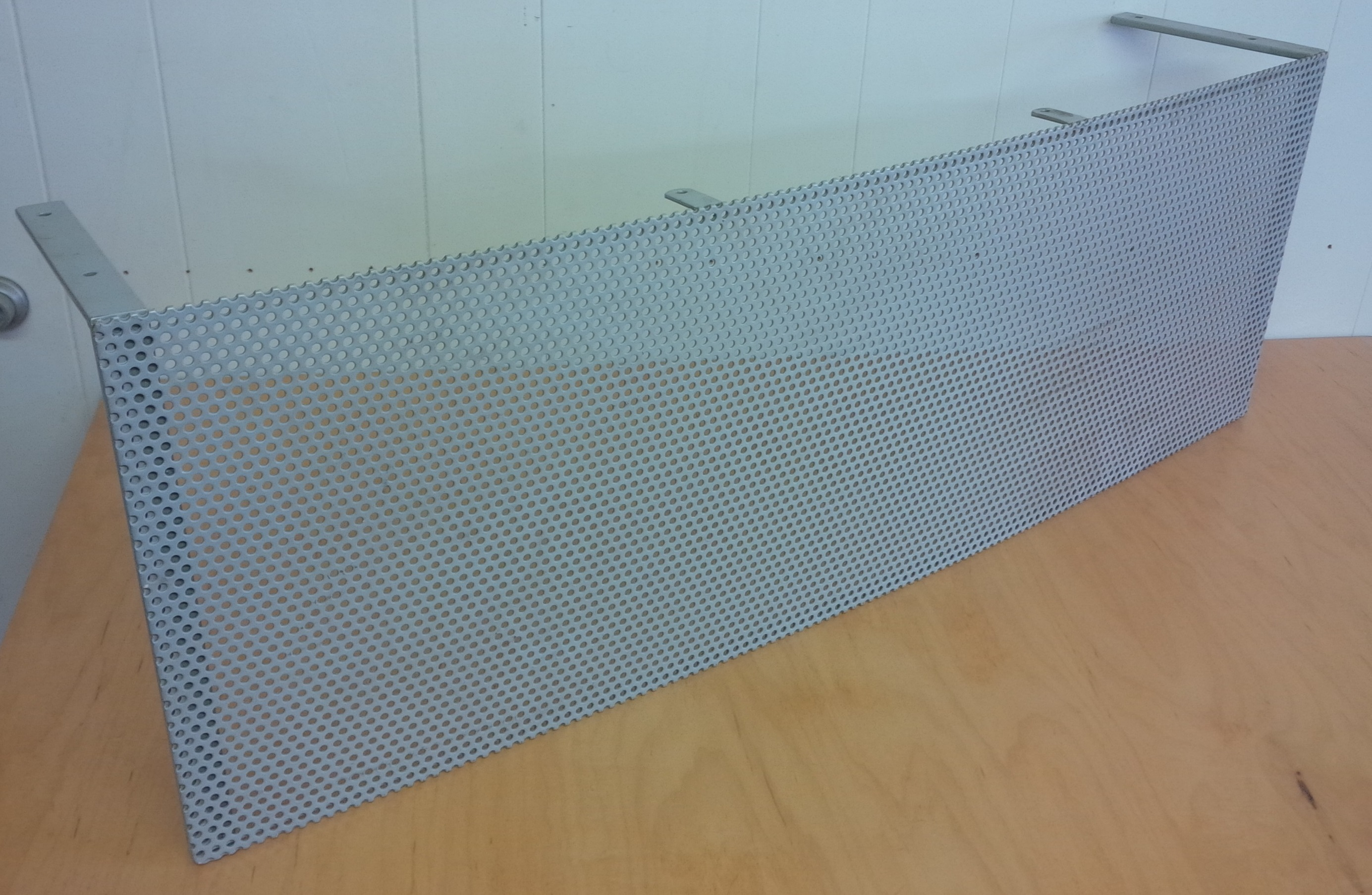 Perforated Privacy Panel