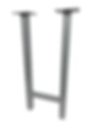 "8104 - Square tube H Frame ( 1 1/2"" or 2"" square tube )"