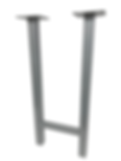 "8104 - Square tube H Frame ( 2"" square tube )"