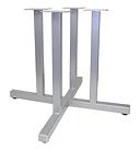 4024 - Four column square tube X base