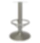 "4018 - Hobnail trumpet barstool base, 15"" footring"