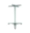 2109 - Stainless Steel Tri-leg base