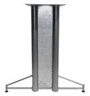 9006 - Double column Wire T base w/screen