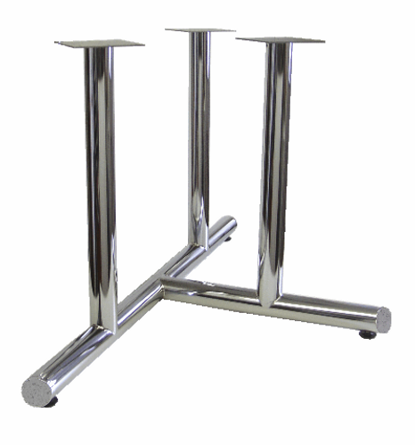 5310 - 3 column flat end 3 prong base