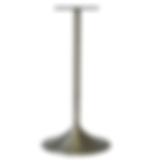 "4010 - Trumpet base / 1""dia column"