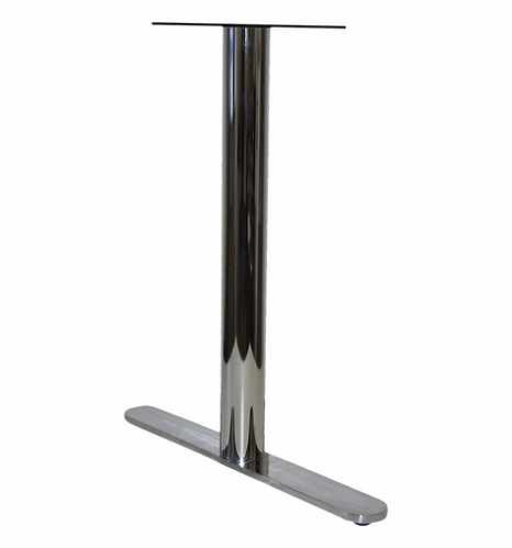 7002 - Round end solid bar T base