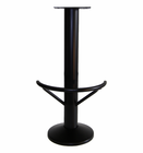 4005 - Floor mount barstool base, half round footring