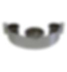 "8021 -  Tool holder, 3 1/2"" blower & 2"" Iron rings"