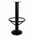 "4008 - Floor mount barstool base, 15"" footring, 10"" bell cover"