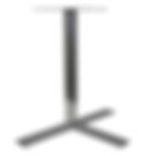 7023 - Flat bar 3 prong base