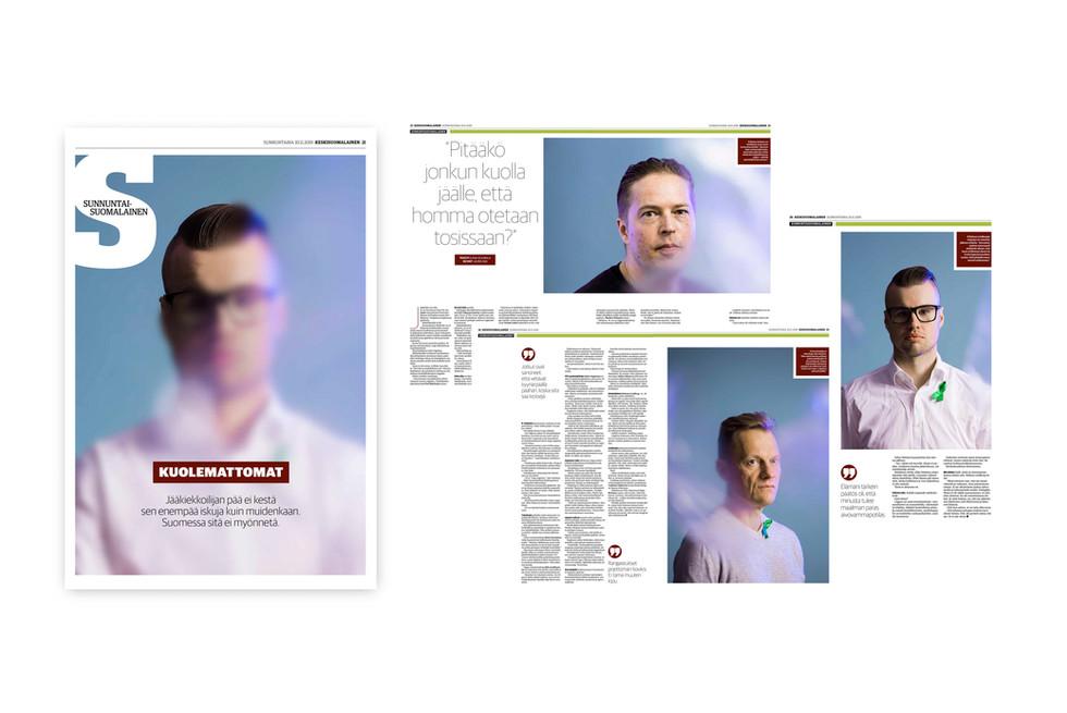 European newspaper award, portrait photography, 2020.