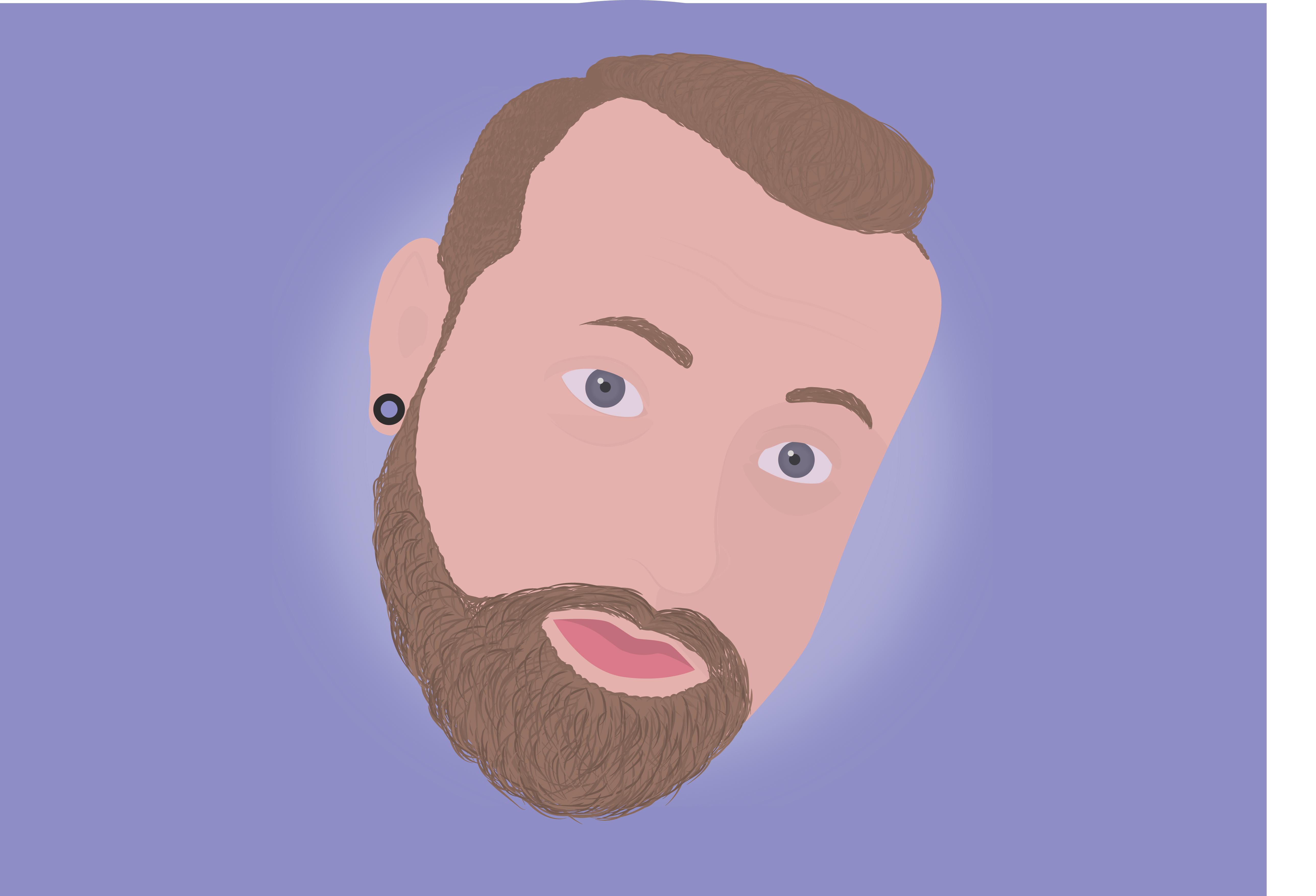 Portret Ruben v G.