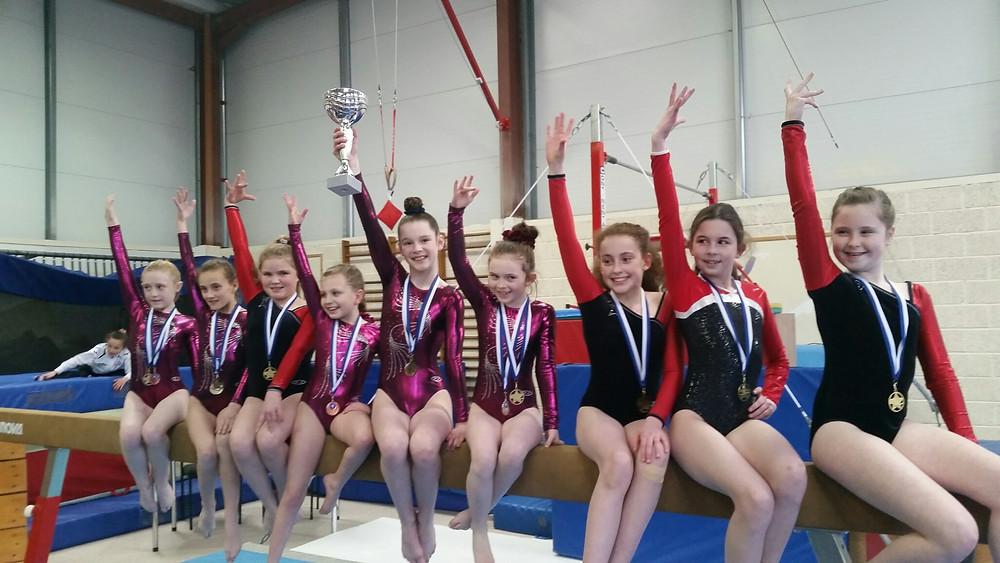 Level 5 Girls Team