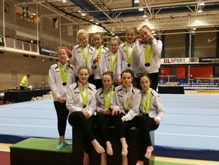 Artistic Team Compete @ Irish National Apparatus Finals 2015