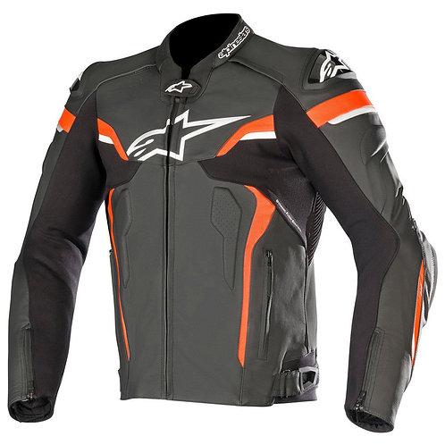Alpinestars Celer v2 Leather Jacket Black White & Red