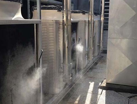 Chiller Condenser Pre-Cooling