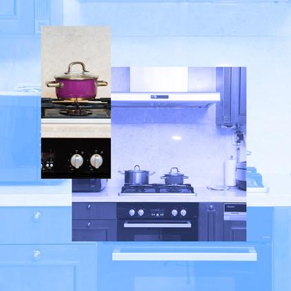 가스렌지와 냄비(Gas stove & pot), 2019