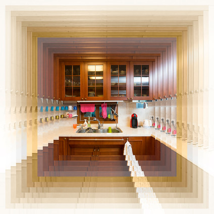 나무싱크대1(Wooden kitchen1), 2019