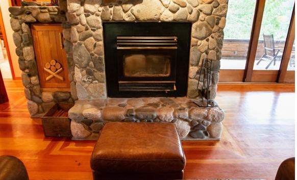Mixal Lodge fireplace