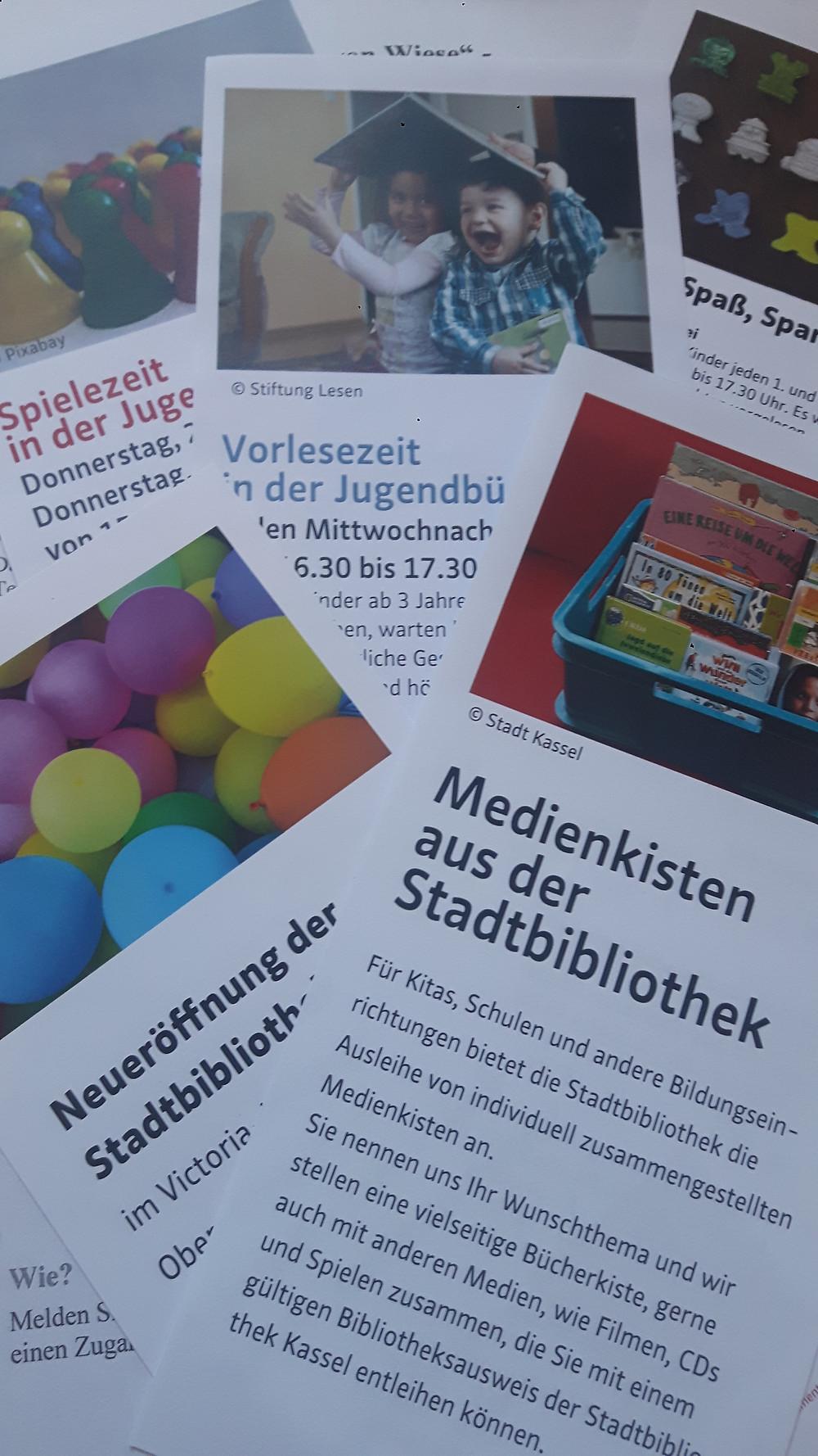 Ideenbörse/runder Tisch der Kinder-und Jugendbücherei Kassel