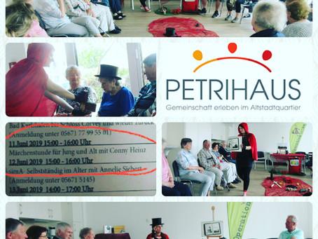 Lesung im Petrihaus Hofgeismar
