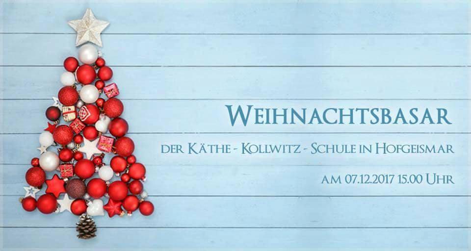 Weihnachtsbasar der Käthe-Kollwitz-Schule Hofgeismar