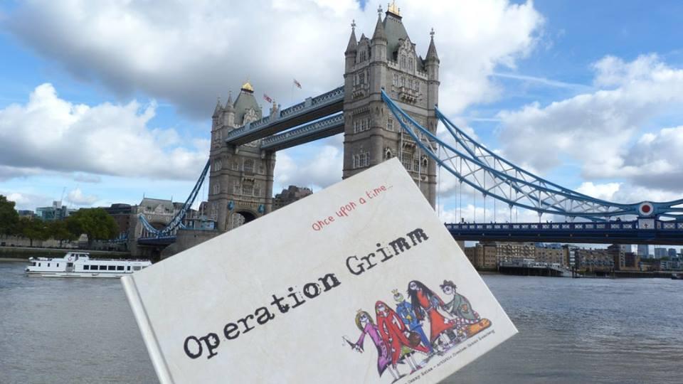 Ein englisches Buch macht Urlaub in England! =)