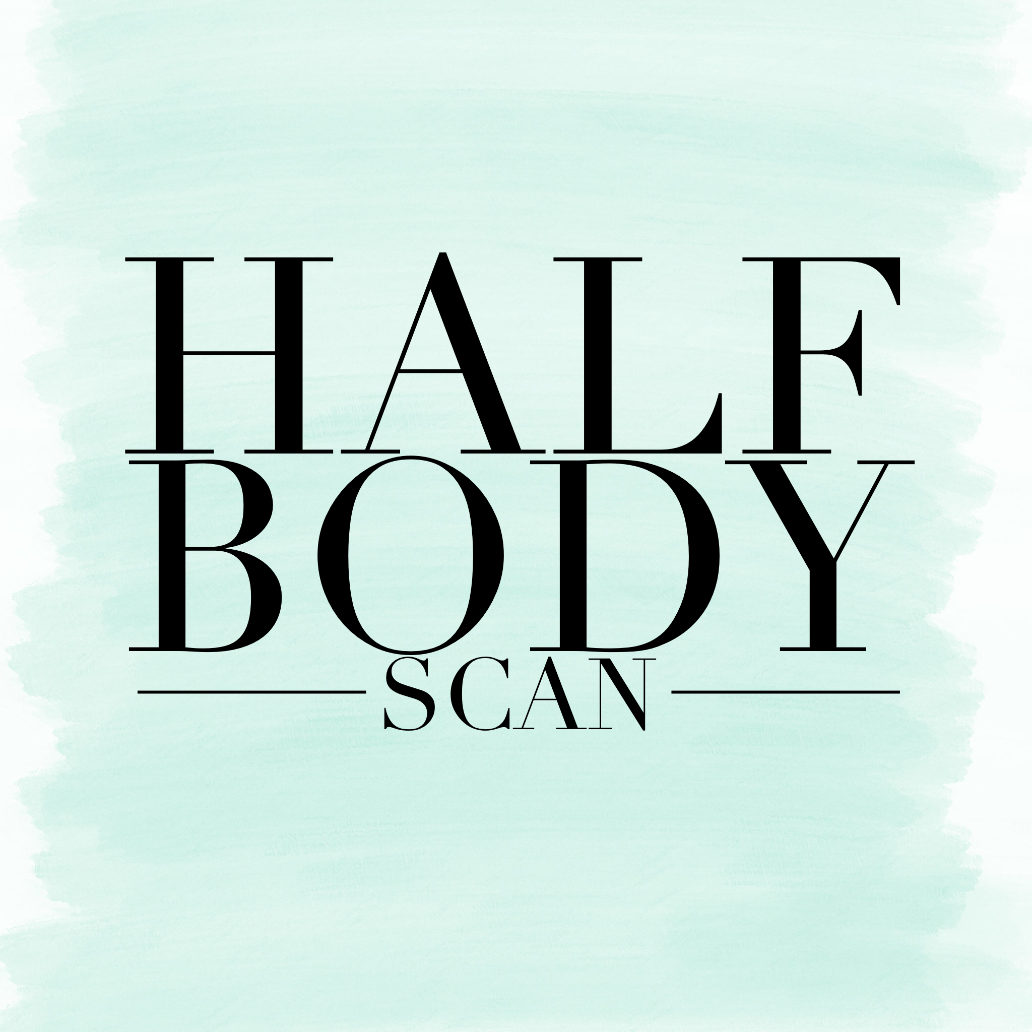 Half Body Thermography Scan