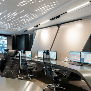 Компплексное оформление офиса  командного пункта Мыс Астафьева. Дизайн: студия Алены Ироденко.