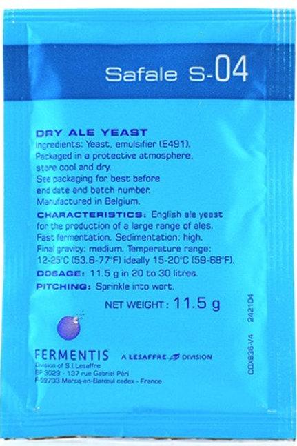 S-04 yeast