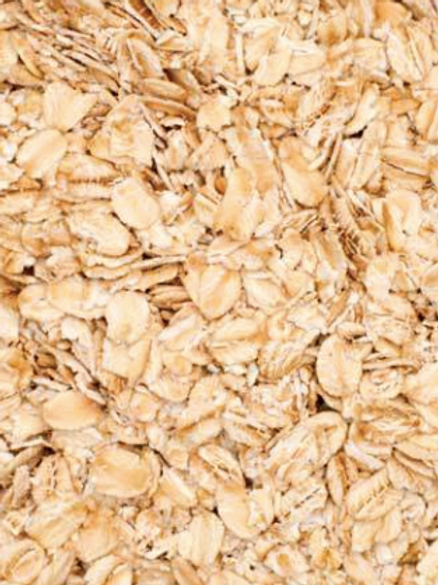 Flaked oats