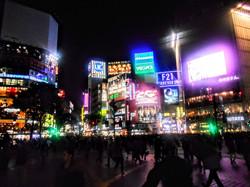 Shibuya Crossing- world's busiest