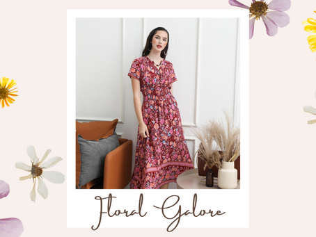Floral Galore: Here's How To Pull Off Floral Prints