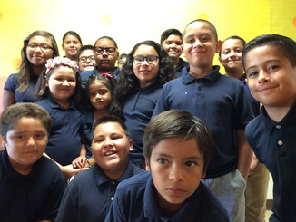 Roosevelt Elementary Students Begin the Year With iTEAM KiDS!