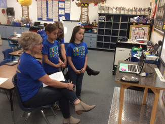 iTEAM KiDS participate in a webinar with the Greater Arizona eLearning Association and GenYES!