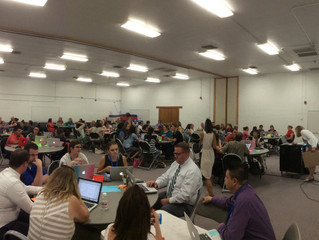 Personalized Learning Site Teams Kickoff the School Year at Woodard on Wednesday afternoon!