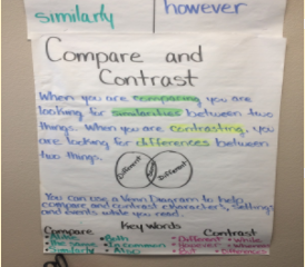 Anchor Charts and Grammar Walls Strengthen Personalized Learning