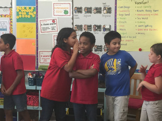 iTEAM KiDS Start the class with a team building activity!