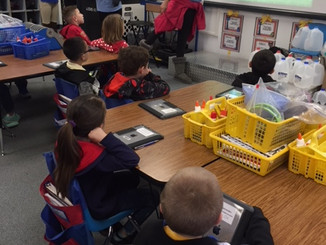 Hour of Code:  iTEAM KiDS Take the Lead at Palmcroft Elementary School