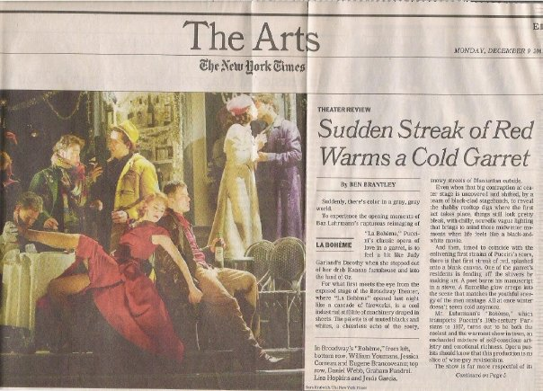 New York Times, Ben Brantley