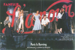 Vanity Fair shoot w/ Annie Leibovitz