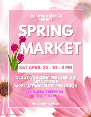 Urban Market Spring Market April 25, 202